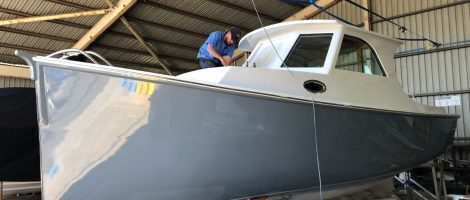 Full restoration of 28ft timber prawn trawler, converted to a family cruiser